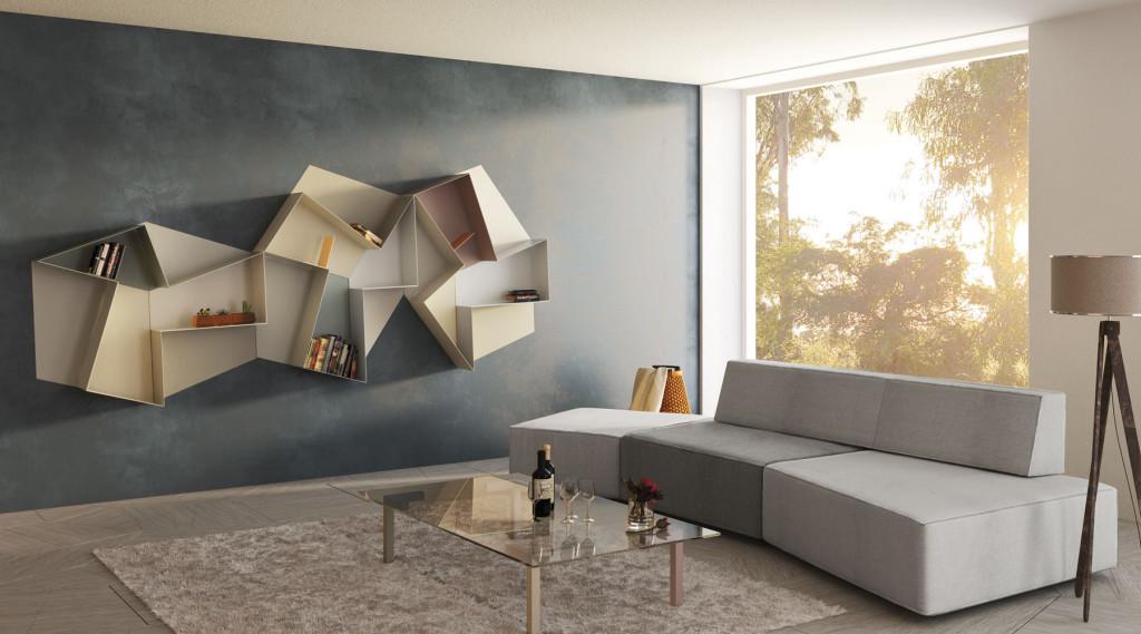 Mobili Soggiorno Design Offerte : Lago Mobili Soggiorno: Librerie per ...